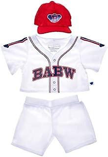 Build A Bear Workshop Baseball Uniform 3 pc.