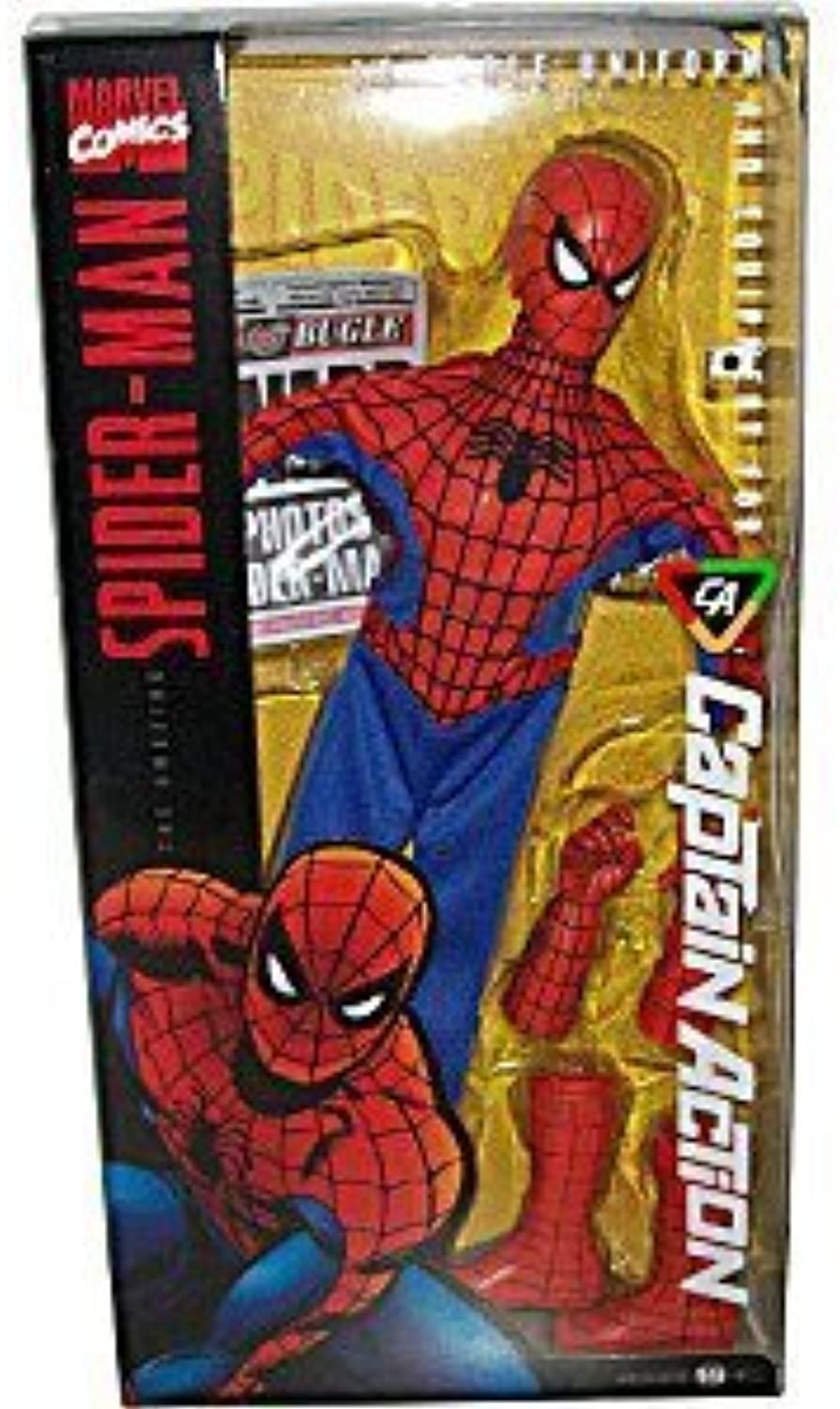 Exclusive Captain Action 1 6th scale Spider-Man Costume Set by Round 2