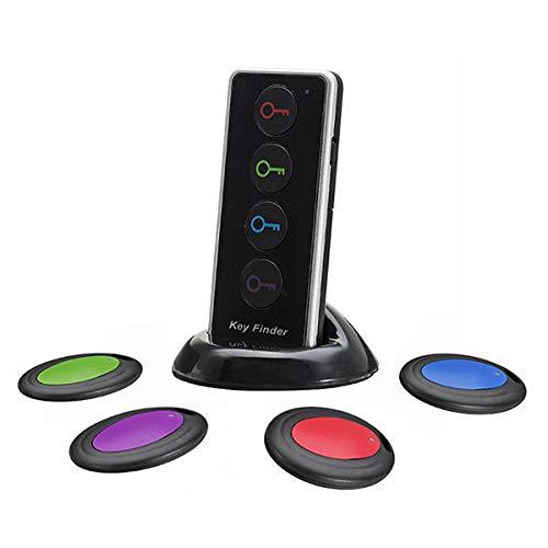 IENPAJNEPQN 4 En 1 Smart Wireless buscador de la Llave de Alarma remota Lost-Anti Locator Localizador Rastreador Buscador