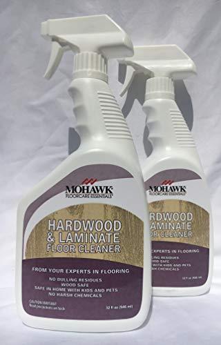 New Mohawk Hardwood and Laminate Floor Cleaner 32 fl oz Spray Bottle Pack of 2. ...