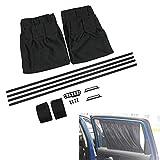 succeedw Kit de parasoles para ventana de coche, resistente a los rayos UV, con aislamiento térmico para ventanas laterales para el cuidado diario del coche