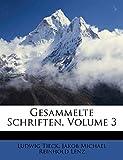 Gesammelte Schriften von J. M. R. Lens. (German Edition)