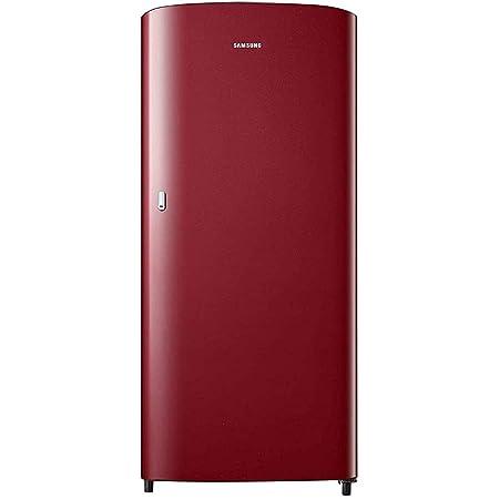 Samsung 192 L 1 Star Direct Cool Single Door Refrigerator (RR19T21CARH/NL, Scarlet Red)