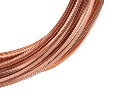 20 Ga Square Copper Wire 25 Ft (Dead Soft) Coil
