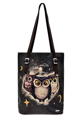 DOGO Tall Bag - Owls Family