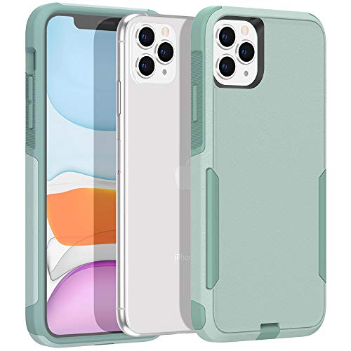 Legfes Phone Case Compatible with iPhone 11 Pro – Shockproof Protective Case – Durable and Sturdy Dual Layer Protection Cover Cases – Stylish and Minimalist Design – Anti-Scratch Raised Edges