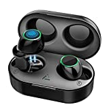 Wireless Earbuds, Mpow T6 Bluetooth Earbuds 40Hrs Playtime/HD Stereo Sound/Touch Control/Mono&Twin Modes/IPX7 Waterproof