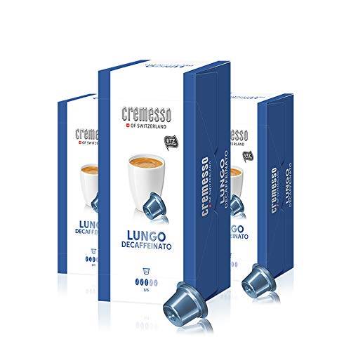 Cremesso Lungo Decaffeinato, 16 Kapseln, 3er Pack