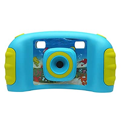 """bouti1583 Digital Photo Video Cameras with Games 1.77"""" LED Screen for Kids Toy"""