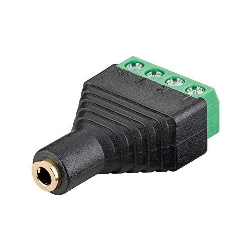 Terminal Block 4pin jack 35 mm jack 4Pin stereo schroefbevestiging