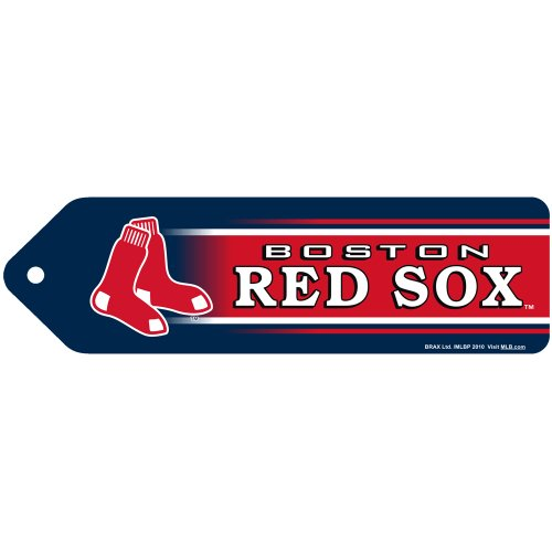 MLB Boston Red Sox 3D Bookmarks, 4-Pack