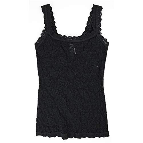 Hanky Panky Women's Signature Lace Unlined Cami, Black, X-Large