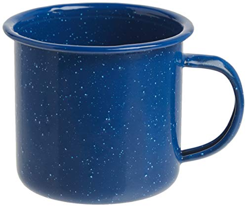 Coleman 10 Ounce Enamelware Coffee Mug (Blue)