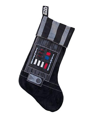Groovy Unisex Star Wars Kids Darth Vader Christmas Stocking, Black Weihnachtsstrumpf, Schwarz, 1.2 x 47.3 x 27.3 centimeters