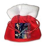 IUBBKI John Fogerty Premonition Gift Bags Santa Sack Backpack Candy Bag Treat Bags Creative Cartoon