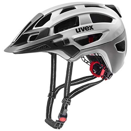 Uvex Unisex– Erwachsene, finale light Fahrradhelm, silver, 52-57 cm