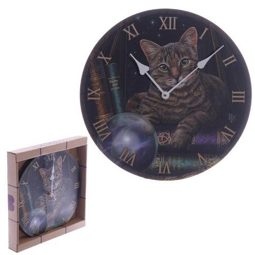 Puckator CKP78 Lisa Parker Uhr, Katzenmotiv, 3x30x30cm