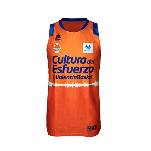 Valencia basket Camiseta de Juego Naranja LF1, Mujeres, 2XS