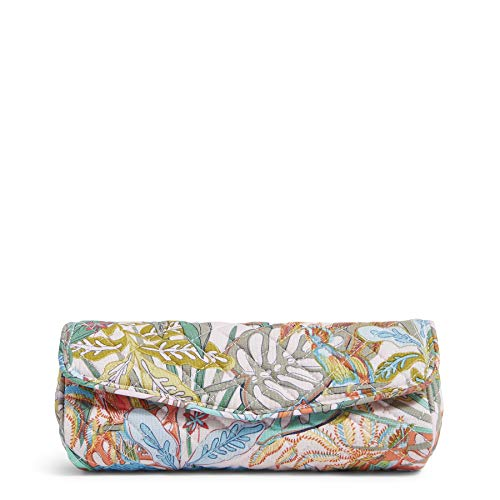 Vera Bradley Women's Recycled Cotton On a Roll Makeup Brush & Pencil Case...