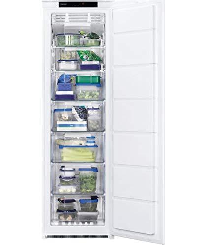 Zanussi ZUNN18FS1 congelador Integrado Vertical Blanco 204 L A+