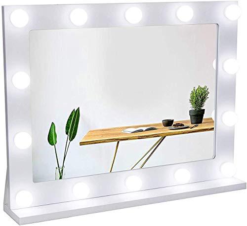 Espejo con luces regulables led de Waneway