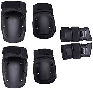6pcs/set Adults Child Skating Protective Gear Elbow Knee pads wristguard Cycling Skateboard Ice Skating Roller Protector