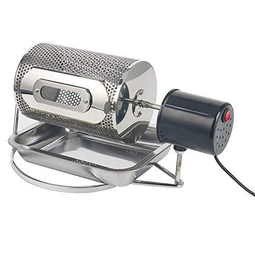 600G Kaffeebohnenröster Kaffee Röstmaschine, Haushalt Backautomaten Kaffeebohnen Edelstahl Roaster Haushaltsgetreidetrocknung Nuss Roasters, Mit-Loch,220v