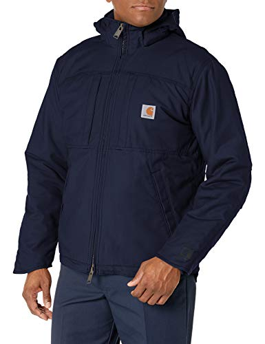 Carhartt Men's Full Swing Cryder Jacket (Regular and Big & Tall Sizes), Navy, Small