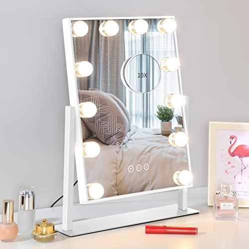 Nusvan Vanity Mirror with Lights,Makeup Mirror with Lights,3 Color...