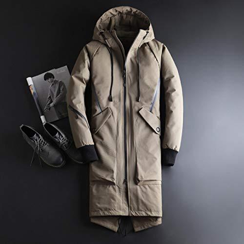 Neue Hochwertige Mode Classic Daunenjacke Winter Herren Daunenmantel Parka Herren Casual Business Herren Verdickung Warmer Mantel L Khaki
