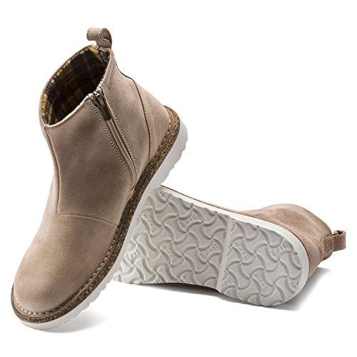 BIRKENSTOCK Melrose Nude Suede Leather Damen Boots