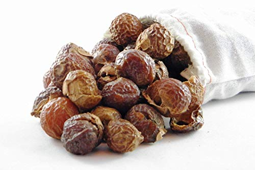 NaturalThings. Organic All Natural Laundry and Dishwashing Detergent Soap Nuts/Soap Berries for Eco Friendly, Premium Grade, Sustainable & Green Laundry (125 Loads). Includes Wash Bag