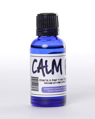 Pup Oils Calm Pup Essential Oil for Dogs Aromatherapy Treatment   Helps Reduce Pets Stress Separation Anxiety   Works Well with Dog Calming Diffuser