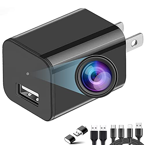 Hidden Camera Charger - Spy Camera - Spy Camera 1080p Full HD - USB Charger Camera - Hidden Spy Camera - Hidden Nanny Cam - Hidden Spy Cam - Hidden Cam