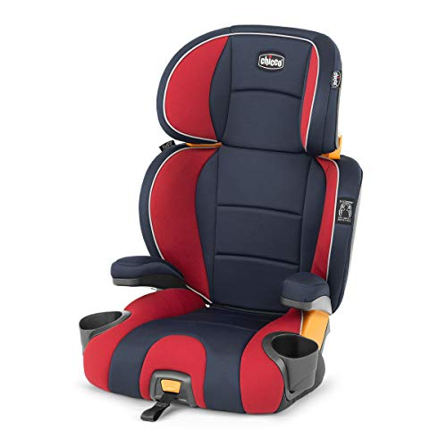Product Image of the Chicco KidFit 2-in-1 Belt Positioning Booster Car Seat - Horizon, Navy/Red