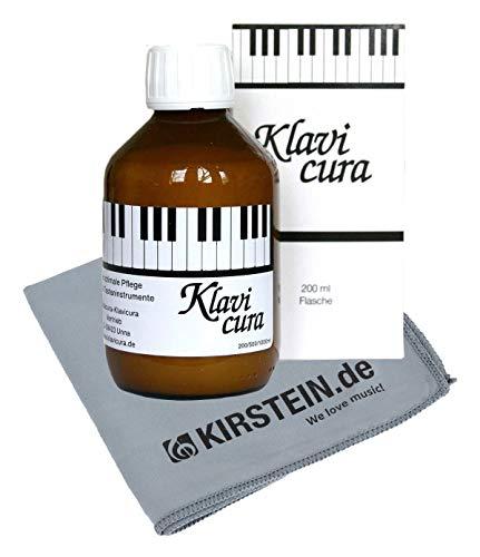 Klavicura Klavierpolitur 200 ml mit Poliertuch