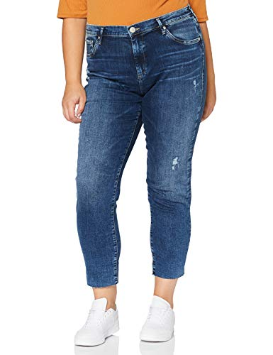 True Religion Damen New Boyfriend Jeans, Cobalt Blue, 31