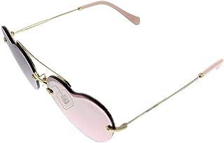 Miu Miu Cat Eye Sunglasses for Women, Pink - MU 62US ZVN7L1