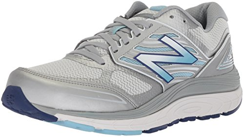New Balance Women's 1340 V3 Running Shoe, White/Purple, 10 D US