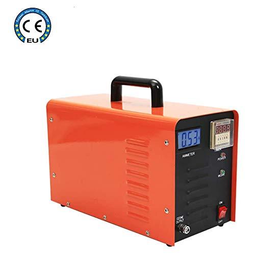 GHDE & Ontgifting, draagbare generator-geurkiller, 5000 mg/h, industriële ozon-luchtreiniger, ozonisator, voor thuis, kamer, roken, huisdieren en auto's