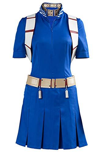 Haydory Disfraz para hombre y mujer Anime My Hero Academia Izuku Midoriya Shoto Todoroki, Cosplay, color azul marino