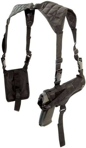 GameFace SAH03 AirSoft Shoulder Holster With Magazine Pouch And Belt Straps