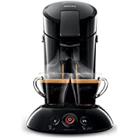 Philips Cafetera Senseo New Original, Elección de crema Plus, grosor de café, color negro negro