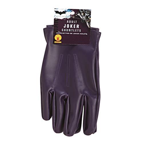Rubies 8228 Rubie's - Guantes oficiales de Joker para adultos, talla nica, talla nica