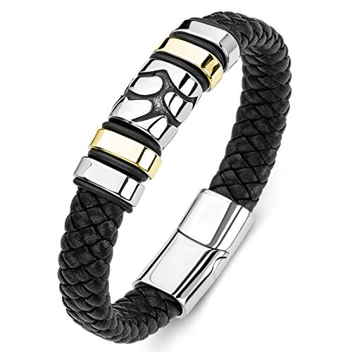 Jewellery Bracelets Bangle For Men Vintage Leather Woven Bracelets For Men Glamour Rock Party Jewelry