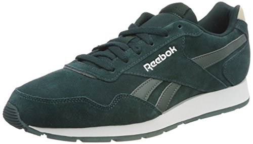 Reebok Herren Royal Glide Sneaker, Türkis (Pramatic Teal/Chalk Green/Stucco/Silver/White), 43 EU