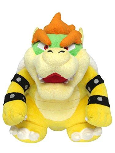 Super Mario ALLSTAR COLLECTION 10 Stofftier Kuscheltier Plüsch Figur Plüschtier: Bowser 25 cm (S)