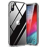 TORRAS HD Clear für iPhone X Hülle/iPhone XS Hülle mit Panzerglas [Vergilbungsfrei & Voller...