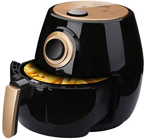 MLTYQ Air Fryer - Extra Large Capacity, 1350 Watt Electric Hot Air Cooker, Knob Control with Non-Stick Coating Liner Home Kitchen