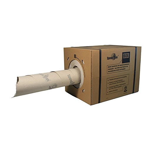 2 SpeedMan BOX® Packpapier aus der Spenderbox mit 70g/m²